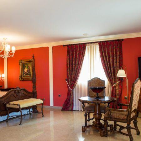Suite presidencial - hotel de lujo